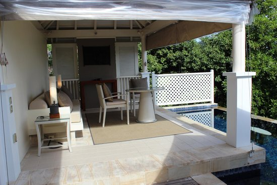 Banyan Tree Seychelles: Our own pool