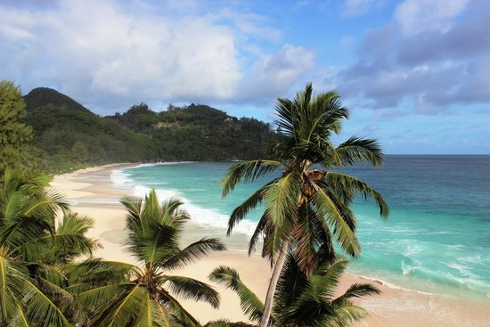 Banyan Tree Seychelles: Amazing beach
