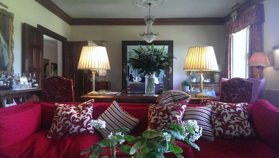 Llangoed Hall: The morning room