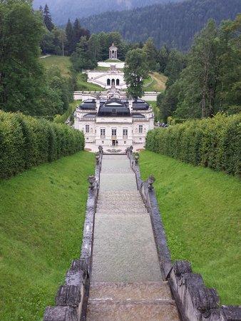Schloss Linderhof: Esterno del palazzo