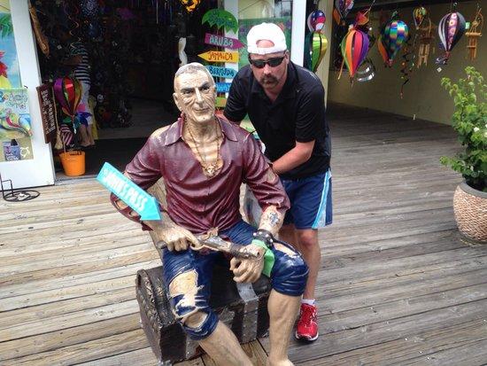 John's Pass Village and Boardwalk: John Himself