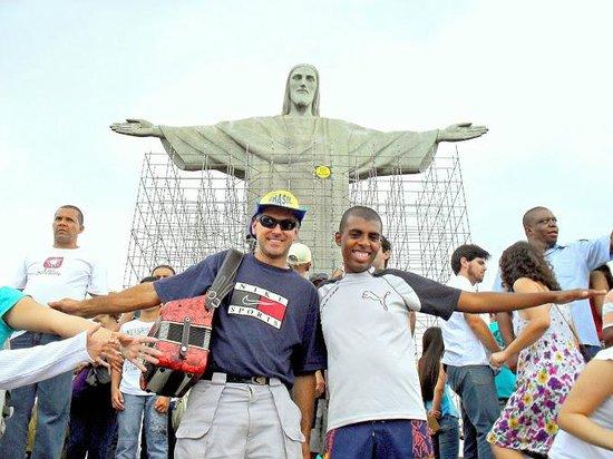 Estatua de Cristo el Redentor: DALTRO VIEIRA - RIO DE JANEIRO - BRASIL. (Em 2010)!