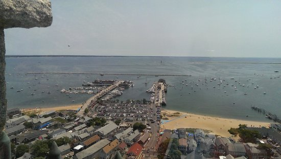 Pilgrim Monument & Provincetown Museum : A view from the top