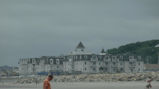 Nantasket Beach Resort: hotel vu de la plage