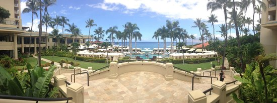 Four Seasons Resort Maui at Wailea: View from the Lobby