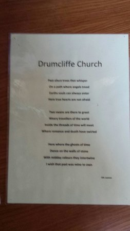 ‪‪Drumcliff‬, أيرلندا: Drumcliff Church Poem‬