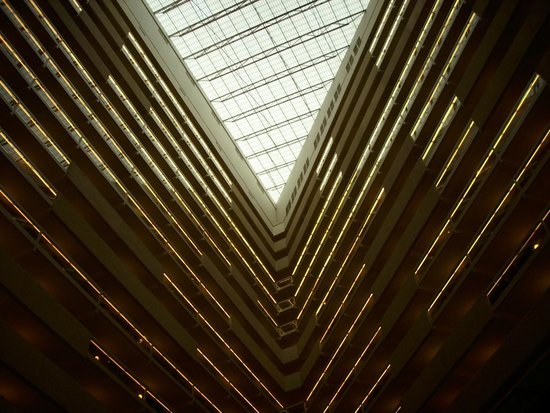 Hyatt Regency Austin: Is it a roof, or a ceiling?