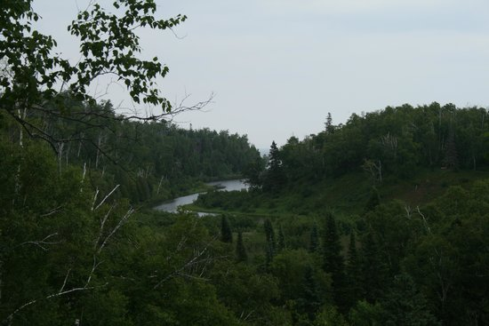 Gooseberry Falls State Park: View from Gooseberry Falls Park