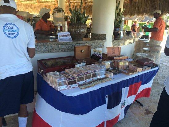Secrets Royal Beach Punta Cana: Cigars sold at the bar