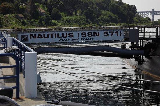 The Submarine Force Museum: Nautilus Slogan