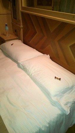 Cristal Palace Hotel: cioccolatini della buonanotte