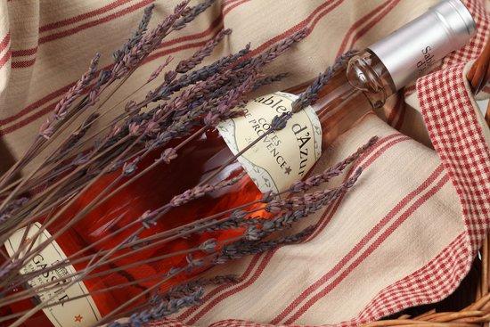 Cafe Michel: Розовое вино. Сабль д`Азюр/Шато Гассье С.А.С/Прованс/Франция