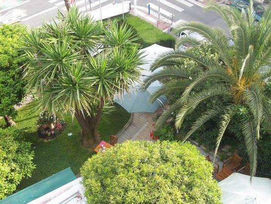 Hôtel Brice Garden : vu de la terrasse