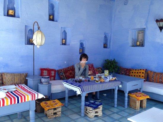 Casa Perleta : Terrasse