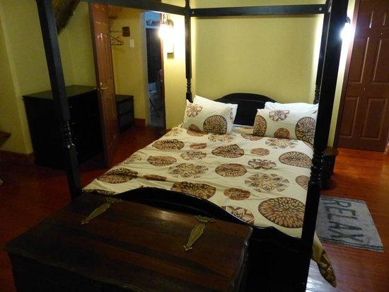 Ardmore Guest Farm : Slaapkamer boven