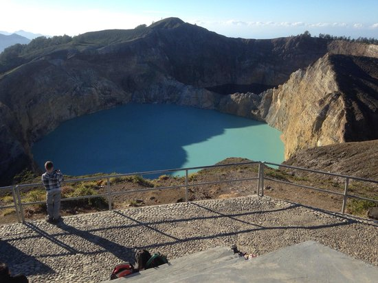 Kelimutu Lake (Tri-Color Lake)