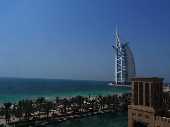 Jumeirah Mina A'Salam: View from room looking at the Burj al Arab
