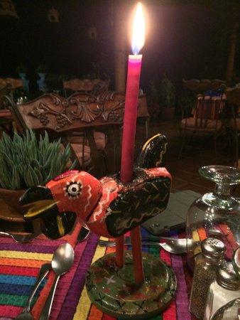 Hotel Atitlan: ужин в ресторане