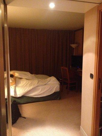 Radisson Blu Hotel, Paris Charles de Gaulle Airport: Aperçu de la chambre en entrant
