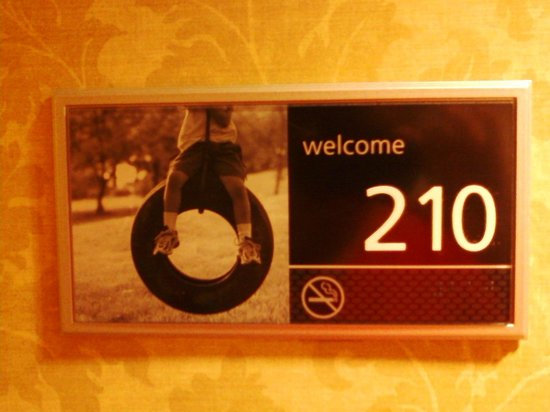 Hampton Inn & Suites Columbus Polaris: Room Number