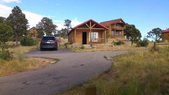 Zion Mountain Ranch: Weer eens wat anders dan een hotelkamer.