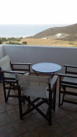 Maroussa's Apartments: meravigliosa vista dalla terrazza