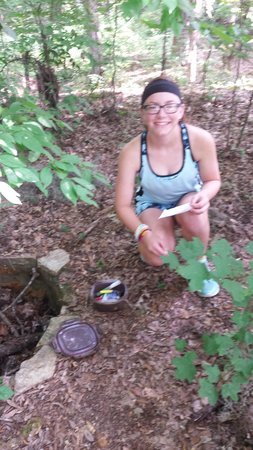 Chehaw Park: geocaching at Chehaw (3 within the park & several just outside the park)