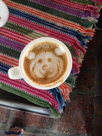 Cafe Estudio : Fantastico ivan ottimo caffe!