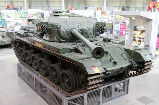 Bovington, UK: British Centurion tank.