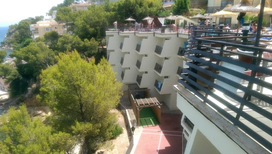 Alua Palmanova Bay: View from terrace of floors 1-3