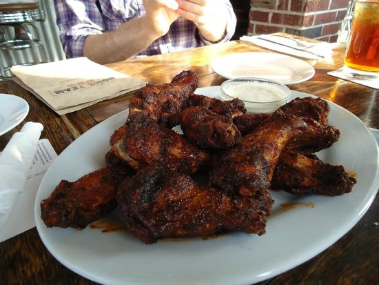 Fiery Ron's Home Team BBQ: Best Wings Anywhere