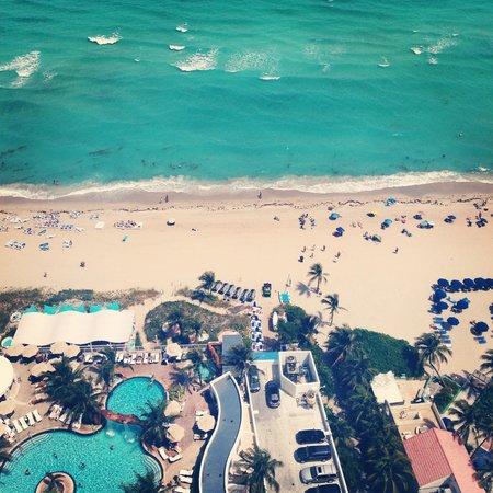 Trump International Beach Resort: my room view