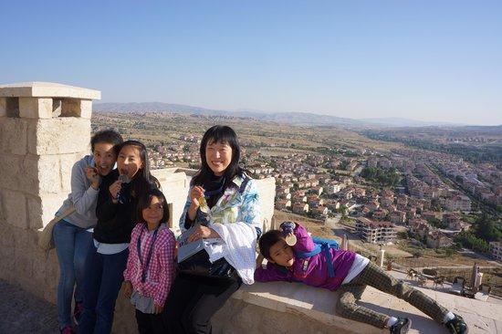 Kayakapi Premium Caves - Cappadocia: 部屋の前からの眺め