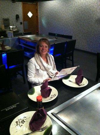 Sakura Japanese Steak House : Great anniversary with my lovely wife