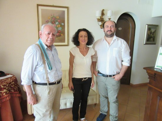 Arca di Pienza: The family that runs the hotel
