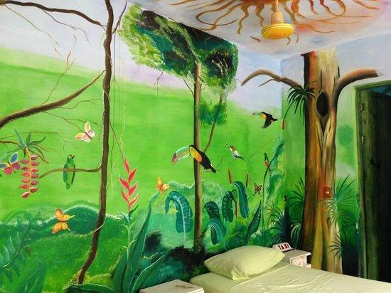 El Jardin de Frida: The bedroom