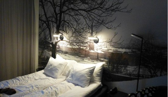 Hotel C Stockholm: primeiro quarto que tentamos