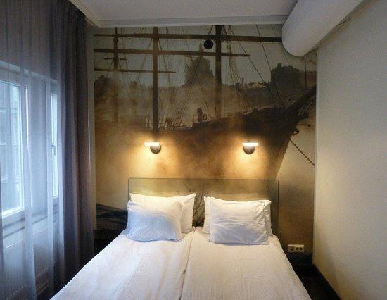 Hotel C Stockholm : quarto que ficamos