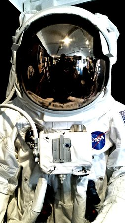 Canberra Deep Space Communication Complex: NASA space suit