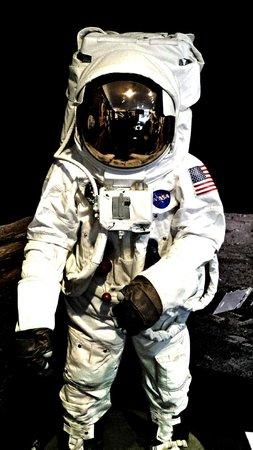 Canberra Deep Space Communication Complex: NASA astronaut suit