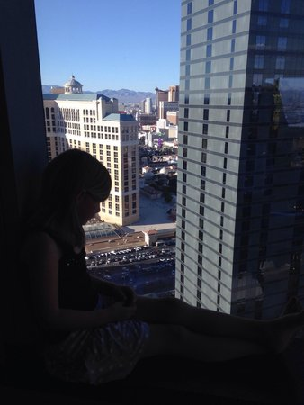 Vdara Hotel & Spa: The view from our room