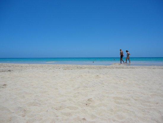 Iberostar Fuerteventura Palace: quiet beach