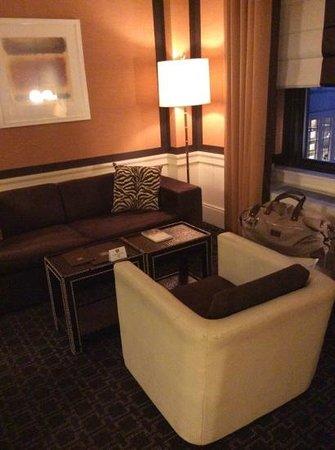 Empire Hotel : lounge area