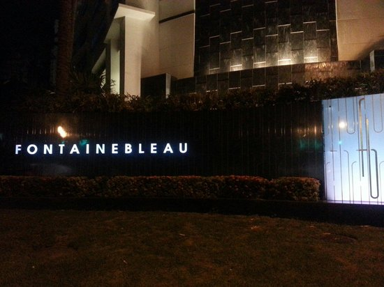 Fontainebleau Miami Beach : The best hotel
