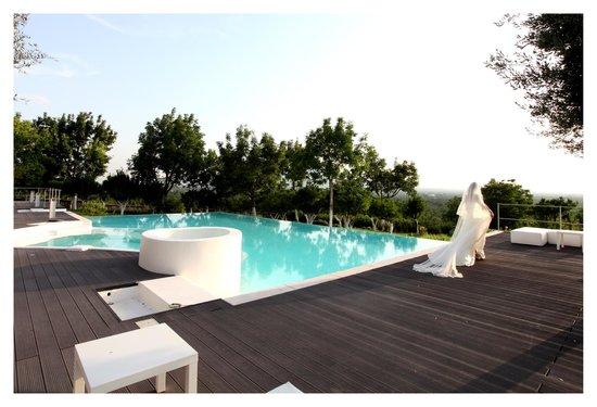 Villa Montesano: piscina