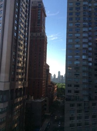 Empire Hotel : view to central park
