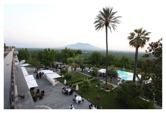 Villa Montesano: vista piscina