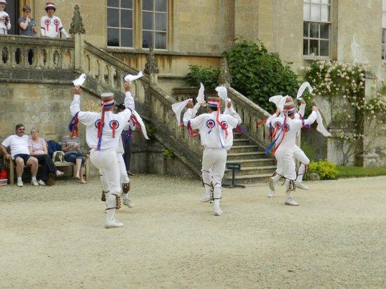 Lacock Abbey: Morris Dancers