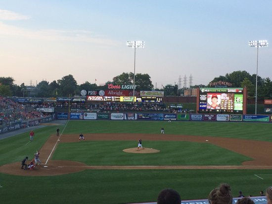 Reading Fightin Phils, FirstEnergy Stadium: View from Red Section 2