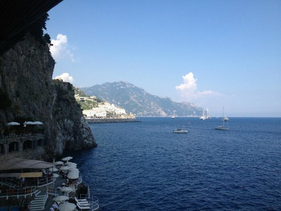 Santa Caterina Hotel: View from our balcony
